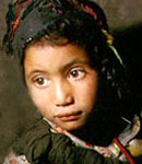 Berber child in Morocco